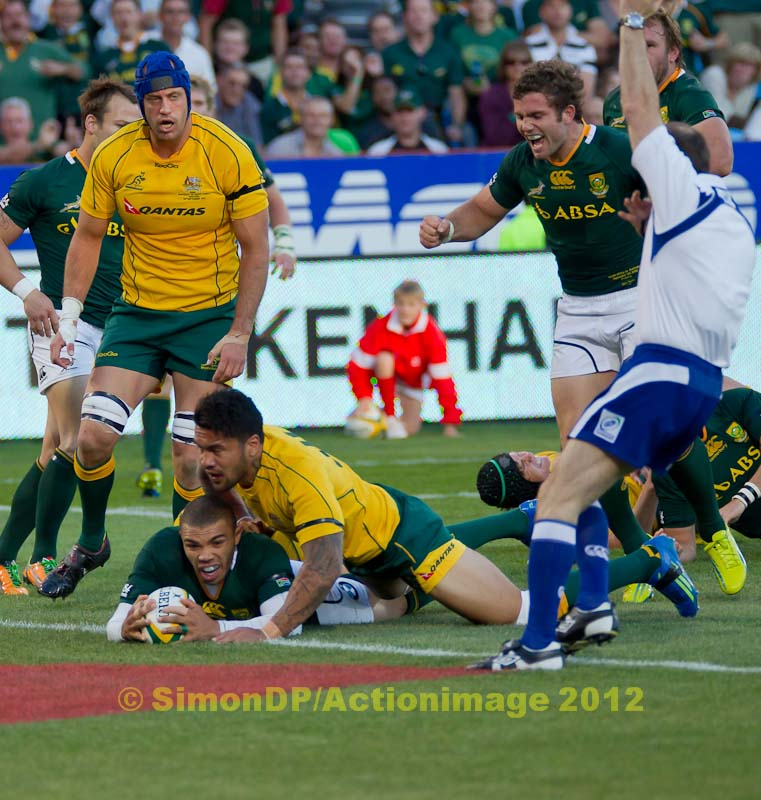 Scotland V Australia World Rugby: Rugby
